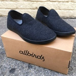 Allbirds men's Black wool slip on loungers